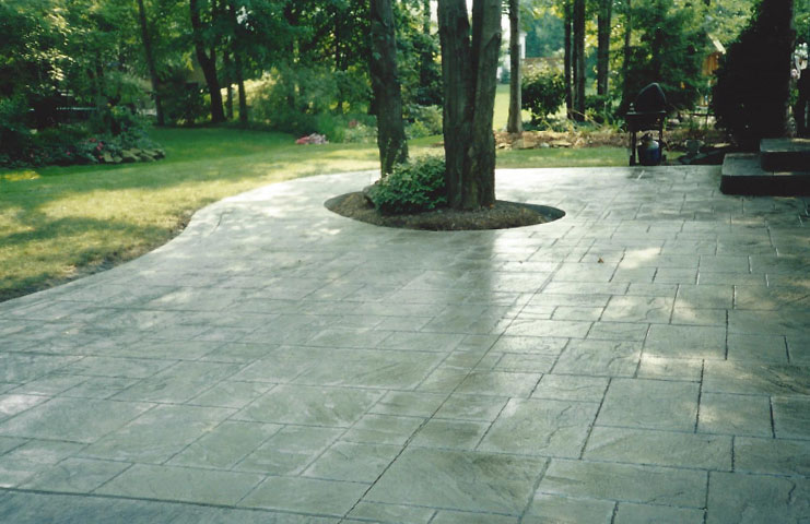 Stamped Concrete Steps · Decorative Concrete Patio ...