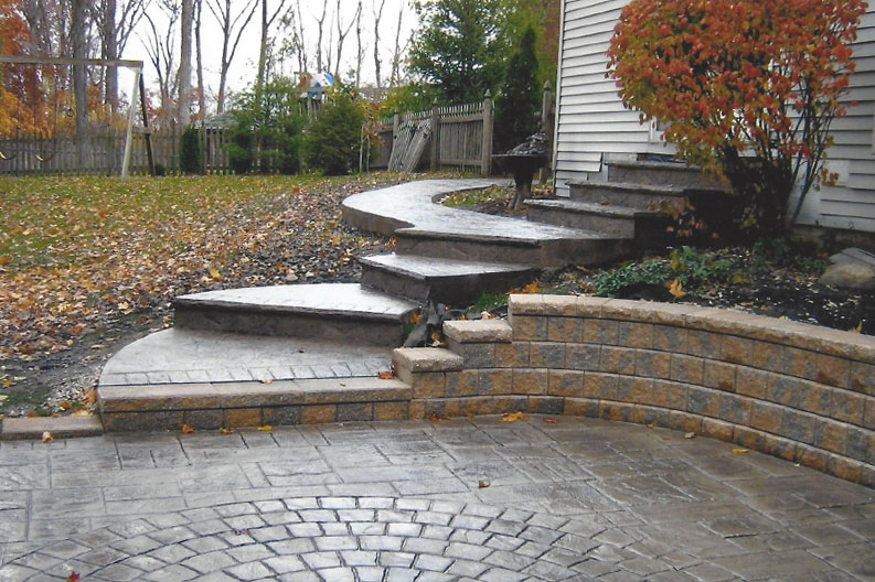 Web Design Tips Anyone Can Understand And Use stamped-concrete-steps-01