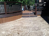 Stamped Concrete Walk